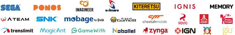 ゲーム・ゲームメディア関連の掲載パートナー
